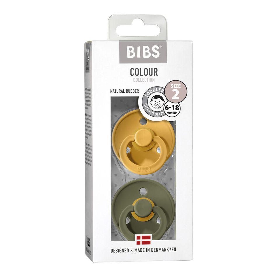Bibs Colour Honey Bee/Olive 6-18 size 2