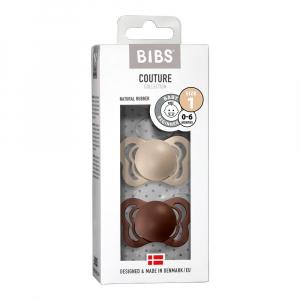 Lutt Bibs Couture Vanilla Mocha 0-6 size 1
