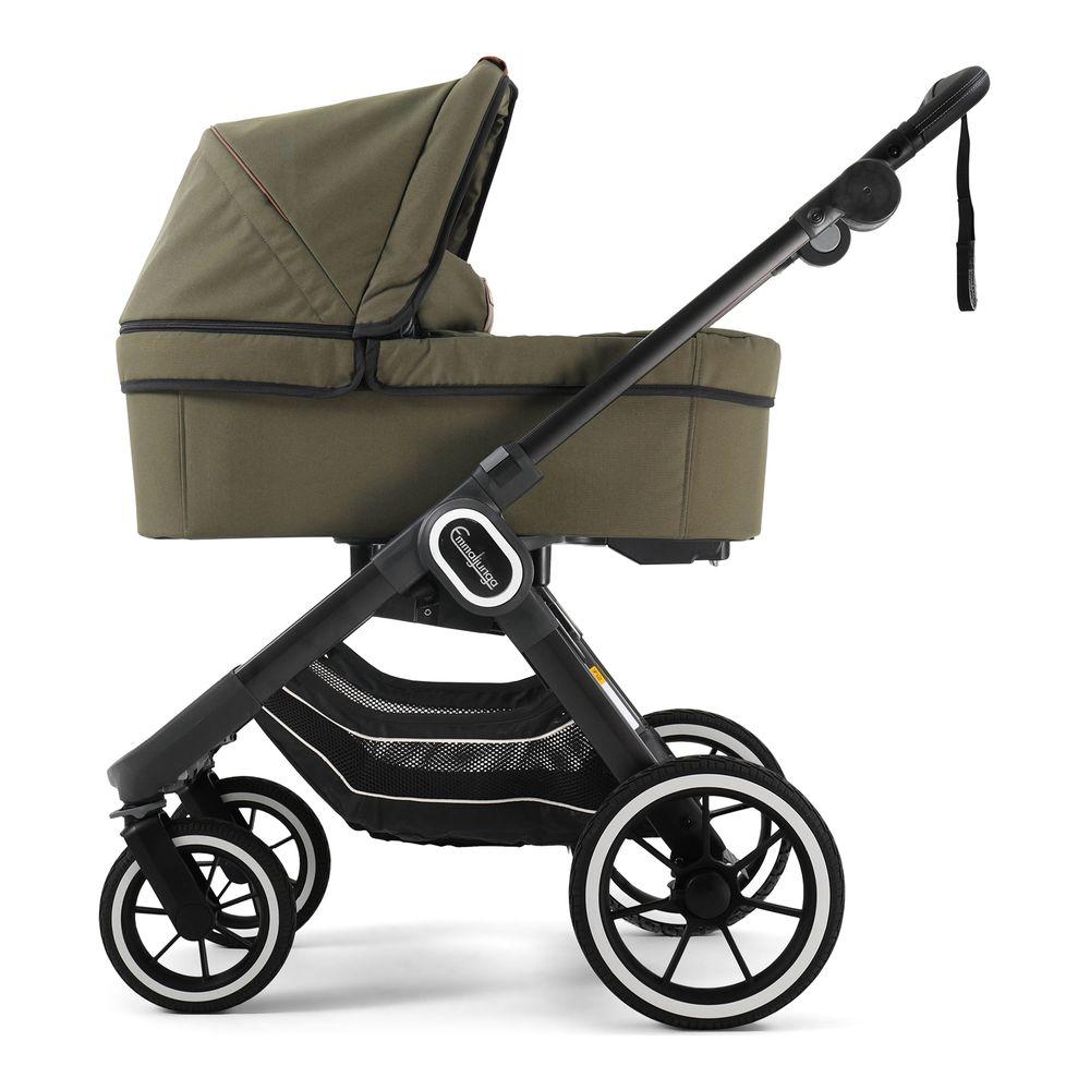 Emmaljunga NXT90 Stroller Black Outdoor Olive
