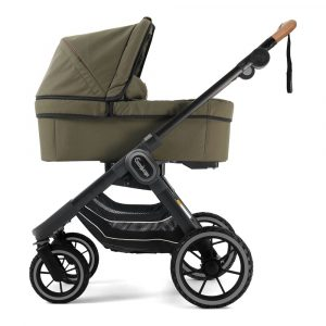 Emmaljunga NXT90 Stroller Black Outdoor Outdoor Olive