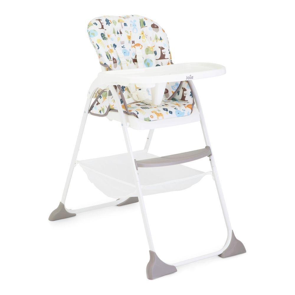 Joie Mimzy Snacker High Chair alphabet