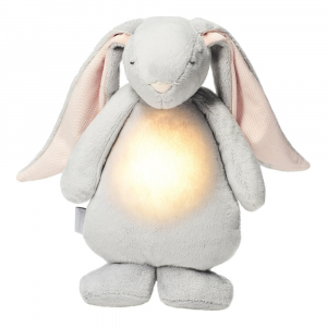 Moonie Humming Bunny with Pink Noise cloud