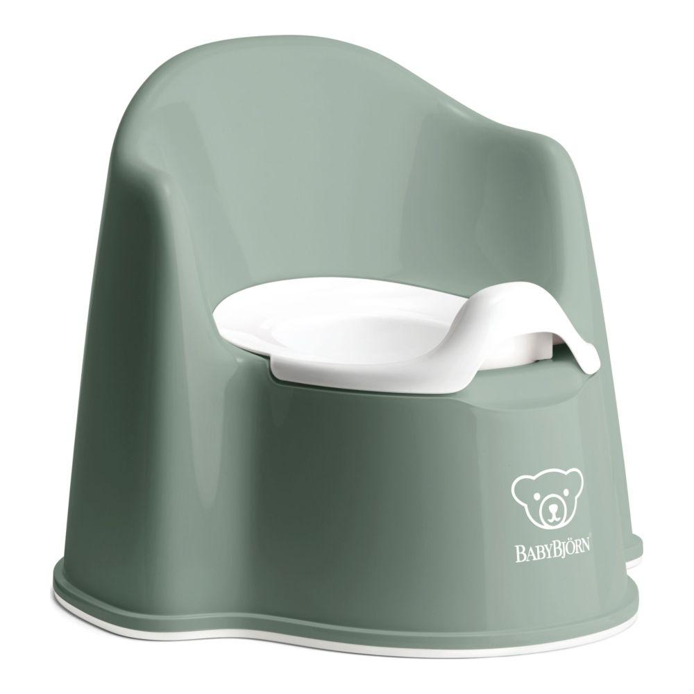 Pissipott seljatoega BabyBjörn Chair deep green